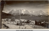 Seward, Alaska, looking east.