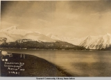 Resur[r]ection Bay, Seward, Alaska, March 21st, 1909.