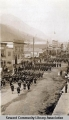Troops on Parade, ca. 1912.