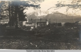 Cemetery in early Seward, Alaska, ca 1905-1915.
