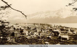 View of Seward from Bear Mountain, ca. 1905-1910.