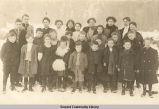 School children, Seward, Alaska, ca. 1909.