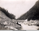 Lowell Creek, Seward, Alaska, ca 1905-1915.
