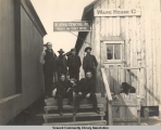 Alaska Central Railway Freight and Ticket Office, Seward, Alaska, ca. 1905-1915.