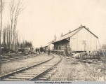 Ware Houses, A[laska] C[entral] R[ailwa]Y Co[mpany], Seward, Alaska, May 13, 1906.