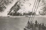 Rescue operation, S.S. Yukon, 1946.