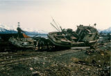 Destruction from the 1964 Earthquake