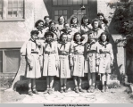 Girl Scout Troop, ca. 1946-1955.