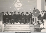 Seward High School graduation, ca. 1946-1955.