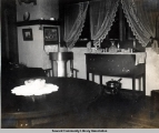 Early dining room, Seward, Alaska, ca. 1905-1915.
