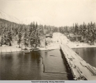 Seward dock and the main street, 1903-1904.