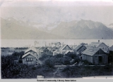 Early Seward homes, ca. 1906.