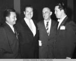 Ralph Rivers with three other men