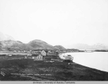 Unalaska, Alaska.  Looking toward Dutch Harbor.