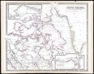 Arctic regions, with all the discoveries, to 1853.