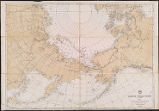 Circum-polar chart (in 2 sheets), sheet 1 : Arctic Sea north of the Pacific Ocean. From the latest...