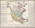 Geographical, statistical, and historical map of North America.