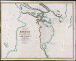 Chart of a part of the North Eastern coast of America and its adjacent islands : shewing the track...