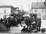 Start, Capt. Crimmins All Alaska Sweepstakes, Nome, April 8, 1911.