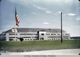 Ladd Field's hospital and headquarters.