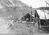 Camp Quartz Creek, lower end of Kenai Lake, Oct. 28, 1930.