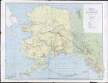 Kroll's standard map of the Territory of Alaska.
