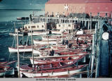Fishing boats at dock.