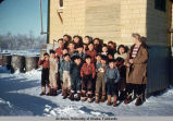 School children, Napakiak.