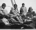 Group of Inupiaq at Wales, Alaska.