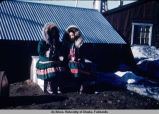 Two Native Alaskan girls.
