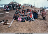 School-age children at Hooper Bay.