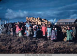 Native Alaskans in Chaneliak [Chaniliut].