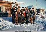 Native Alaskans in Nikolai.