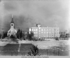 Catholic Hospital and Church, Fairbanks, Alaska