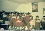 Church choir.