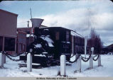 Fairbanks train depot.