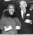 Ernest Gruening with an Eskimo woman