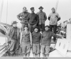 Capt. Amundsen & his crew on the GJOA