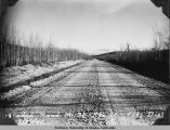 Regraded road, mile 30, Route 16, Fairbanks District.