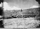 Faith Creek bridge, mile 70, Route 16, Fairbanks District.
