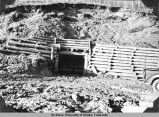 Gravel trap, Hot Springs, Rte 30. Fbks Dist, 10/24/38.