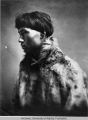 Portrait of unidentified native man