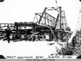 West approach span, Salatna bridge. Nov. 21, ['36?]