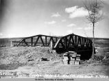 Tatalina River bridge, Mile 57, Rte 7B, Fbx Dist, 5/6/49.