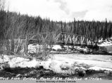 West Fork bridge. Route 65 M, Fbx Dist , 4/20/49.
