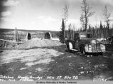 Tatalina River bridge, Mile 57, Rte 7B, Fbx Dist. 5/6/49.