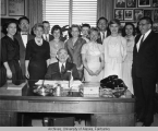 Senator Gruening and his staff