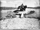 Washout, Mile 1423, Rt. 65 L, Fbks. Dist. 5/19/49. Same as A.