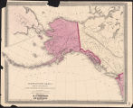 North Western America : showing the territory ceded by Russia to the United States.