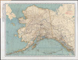 Rand McNally standard map of Alaska.
